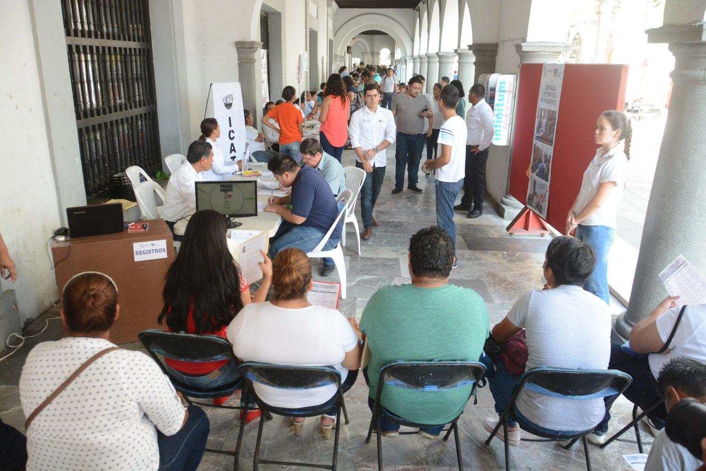 Llevan a cabo jornada de empleo en bajos del palacio municipal de veracruz formato siete - Empleo sigma alimentos ...